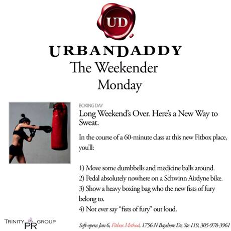 Urban Daddy Feature